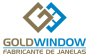 logo gold window