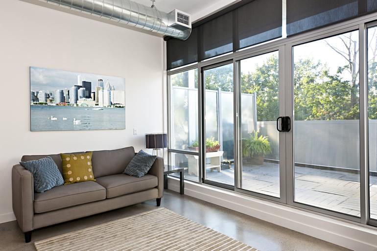 Caixilhos em pvc e alumínio para portas e janelas
