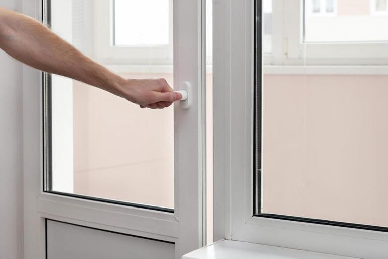 Características das portas exteriores em PVC