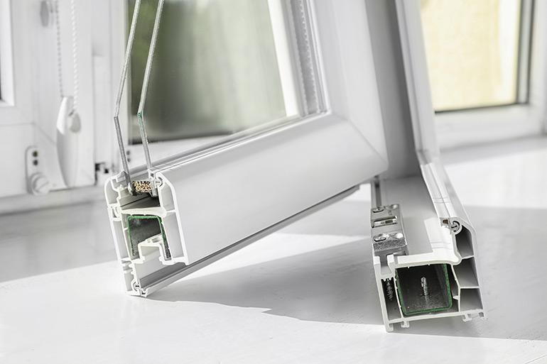 Caixilharias em PVC para portas, janelas e marquises em Alcochete C